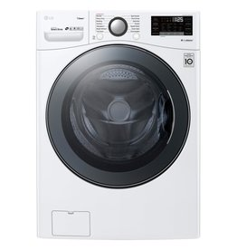 LG LG 4.5 Steam Front Load Washer White