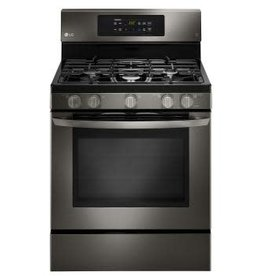 LG LG Freestanding Convection Gas Range Black Stainless