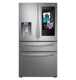 Samsung Samsung 22.2 Counter Depth Family Hub French Door Refrigerator Stainless