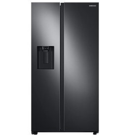 Samsung Samsung 22.0 Counter Depth SxS Refrigerator Black Stainless