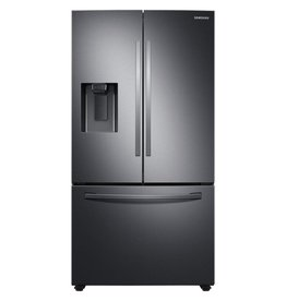 Samsung Samsung 27.0 French Door Refrigerator Black Stainless