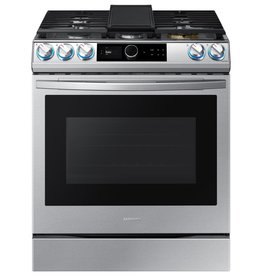 Samsung Samsung Slide-In Convection Gas Range Stainless