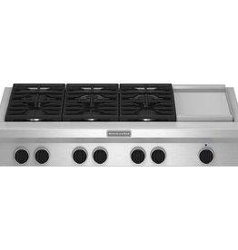 "KitchenAid Kitchenaid 48"" Rangetop Stainless"