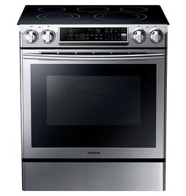 Samsung Samsung Slide-In Convection Electric Range Stainless