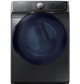 Samsung Samsung 7.5 Steam Gas Dryer Black Stainless
