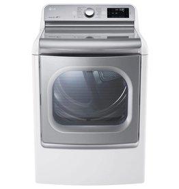 "LG LG 29"" 9.0 Steam Electric Dryer White"