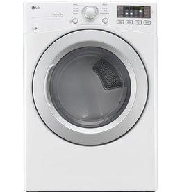 LG LG 7.4 Gas Dryer White