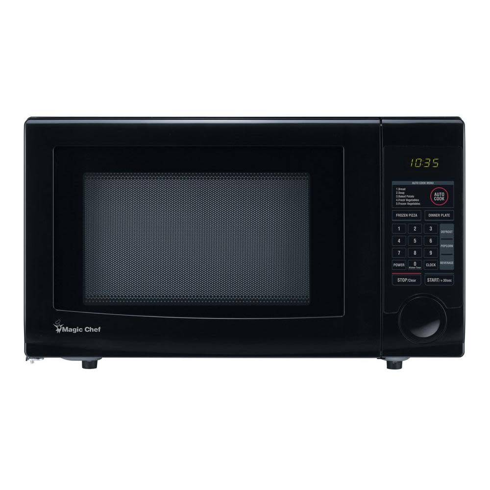 Magic Chef Magic Chef 1.1 Countertop Microwave Black