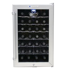 Whynter Whynter 28 Bottle Wine Cooler Platinum