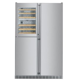 """Liebherr Liebherr 48"""" Built-In SxS Refrigerator/Wine Cooler Stainless"""