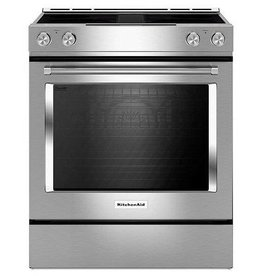 KitchenAid KitchenAid Slide-In Convection Downdraft Electric Range Stainless
