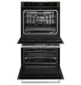 "KitchenAid Kitchenaid 27"" Convection Double Wall Oven Black Stainless"