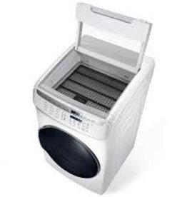 Samsung Samsung 7.5 FlexDry Steam Electric Dryer White
