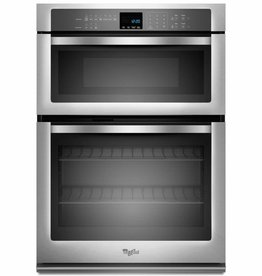 """Whirlpool Whirlpool 30"""" Microwave Wall Oven Combo Stainless"""