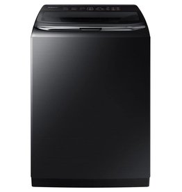 Samsung Samsung 5.4 ActiveWash Steam Top Load Washer Black Stainless