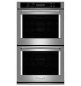 """KitchenAid Kitchenaid 30"""" Convection Double Wall Oven Stainless"""