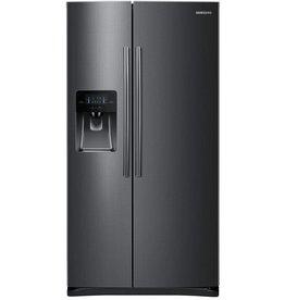 Samsung Samsung 24.5 SxS Refrigerator Black Stainless