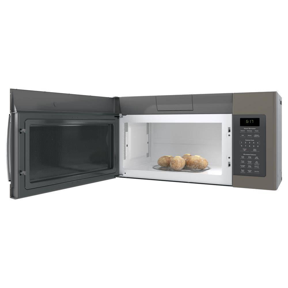 GE GE 1.7 OTR Microwave Slate