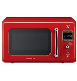 Daewoo Daewoo 0.7 Countertop Microwave Red
