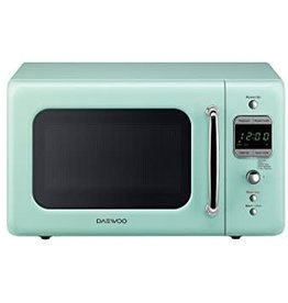 Daewoo Daewoo 0.7 Countertop Microwave Mint Green