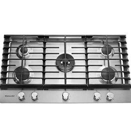"""KitchenAid Kitchenaid 36"""" Gas Cooktop Stainless"""