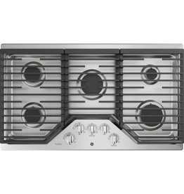 """GE GE Profile 36"""" Gas Cooktop Stainless"""