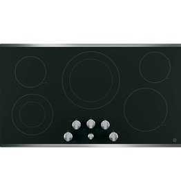 "GE GE 36"" Electric Cooktop Stainless"