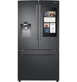 Samsung Samsung 24.6 Family Hub French Door Refrigerator Black Stainless