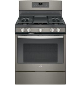 GE GE Adora Freestanding Convection Gas Range Slate