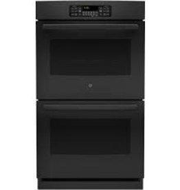 """GE GE 30"""" Double Wall Oven Black"""
