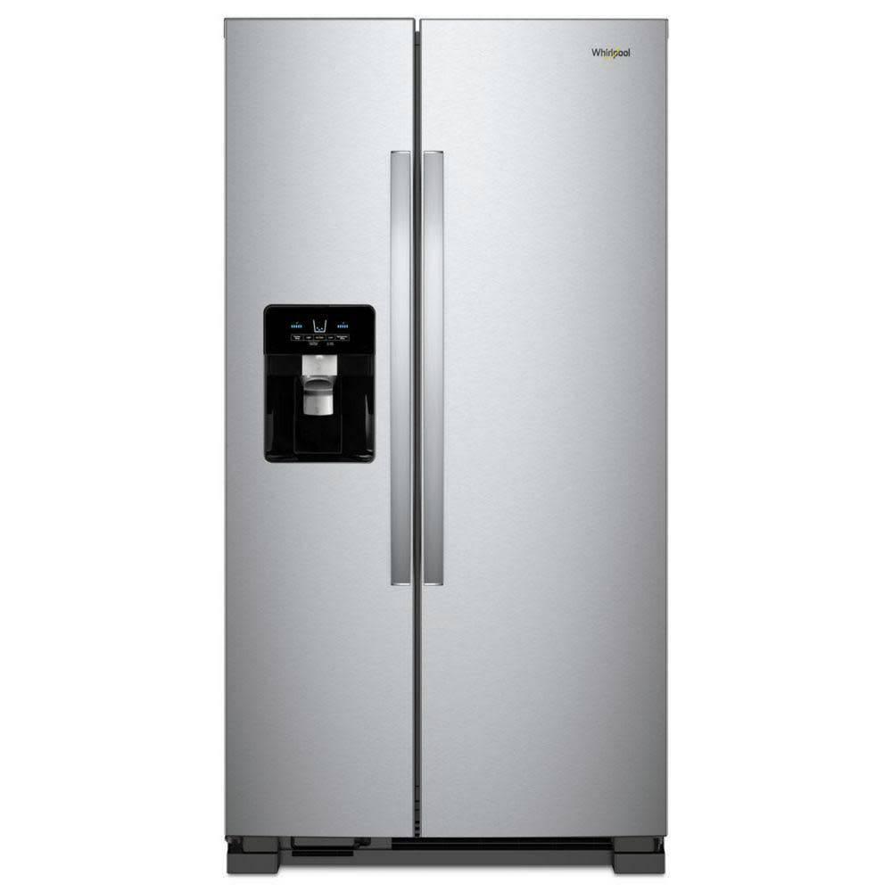 Whirlpool Whirlpool 24.6 SxS Refrigerator Stainless