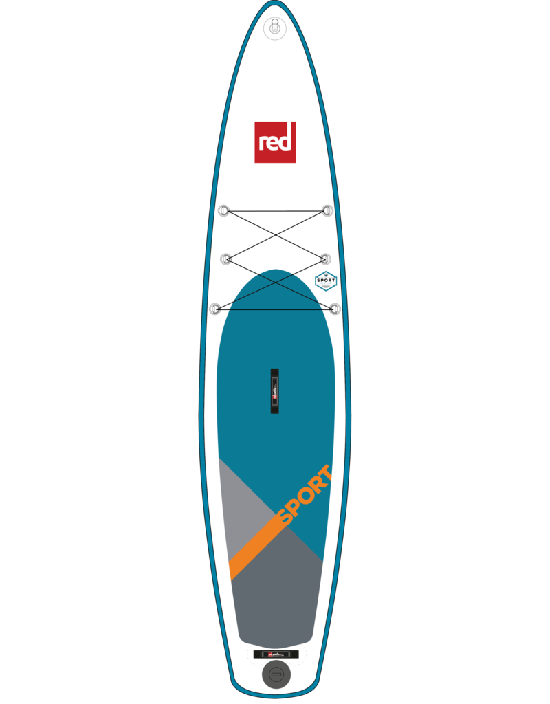 """Red Paddle Co. Used Red Paddle Co 12'6"""" Sport MSL Inflatable SUP"""