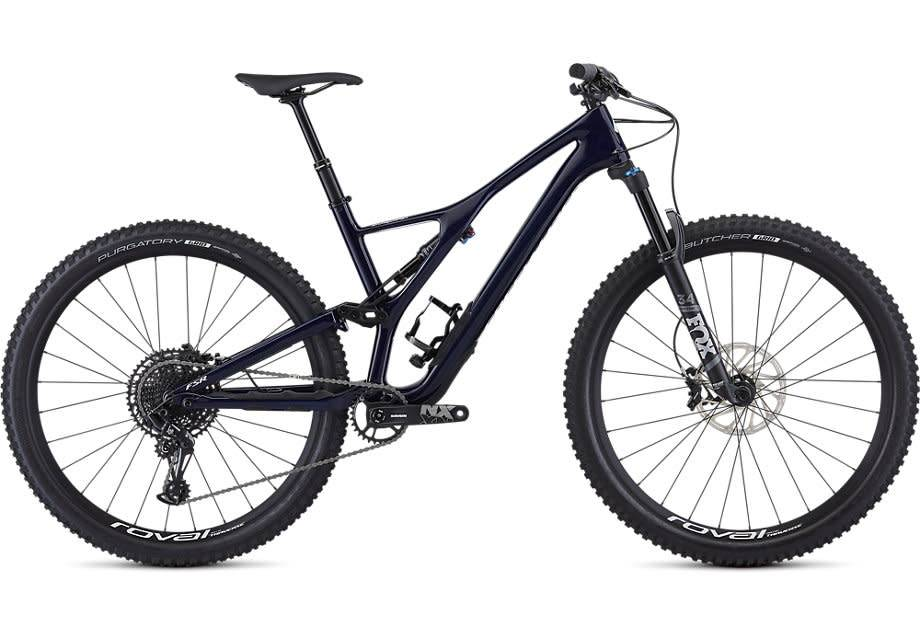 Stumpjumper ST Comp Carbon 29 12 Speed Gloss Blue Tint Carbon/ White