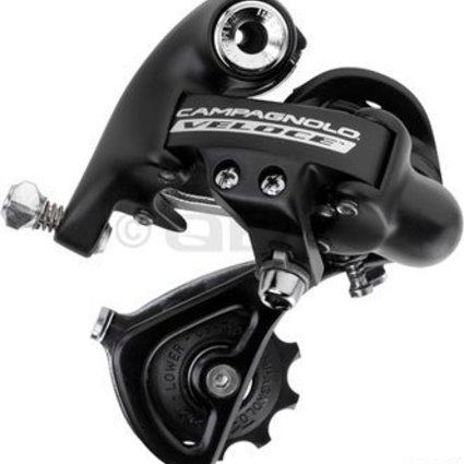 Campagnolo Veloce 10sp rear derail, SS short cage – black