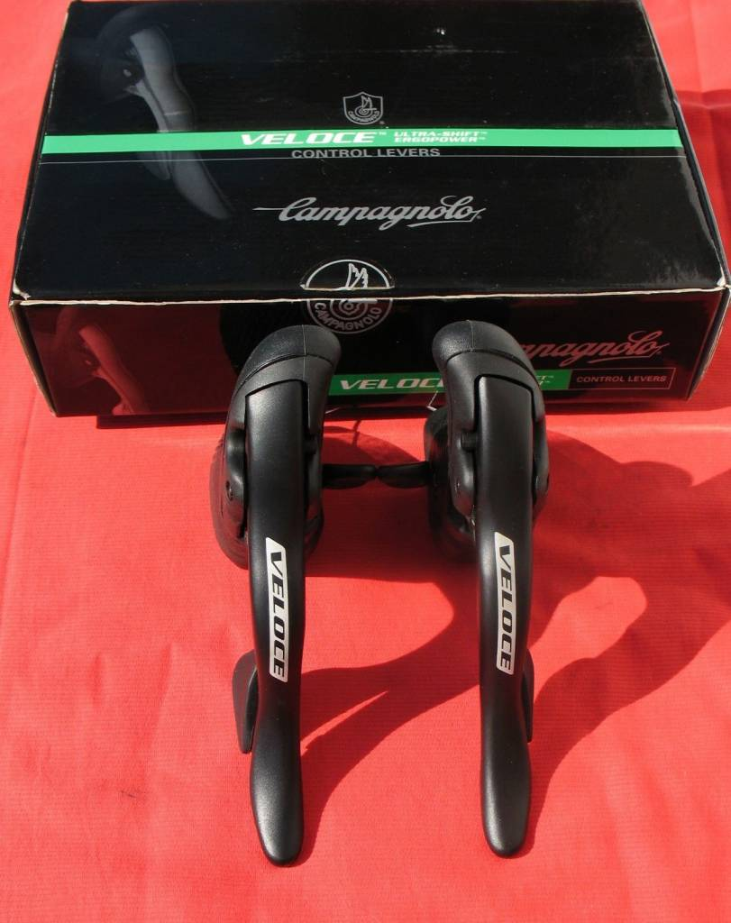 Campagnolo Veloce  Ultra-shift Ergopower Control Levers