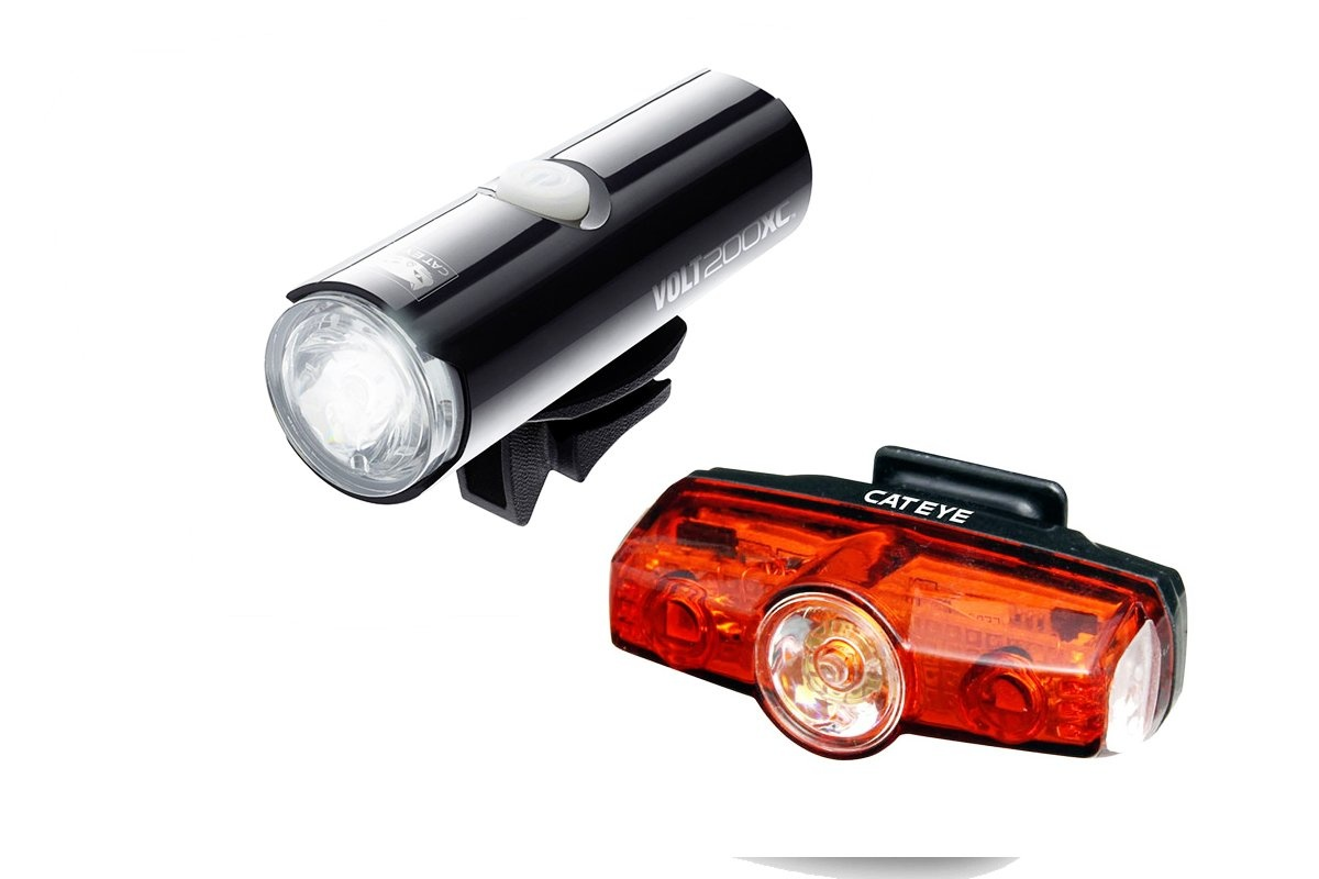 CATEYE LIGHTSET USB VOLT 200XC & RAPID MINI