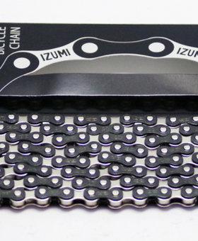 Izumi Black/ Silver 1/2 X 1/8 116 Links