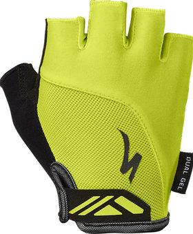 Womens BG Dual Gel Glove Hyper Green