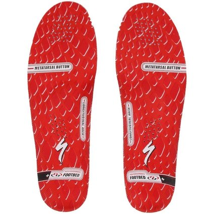 High Performance BG FIT Footbed Red*