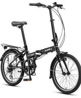 "XDS City Folding Bike 20"" Black"
