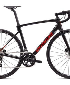 Roubaix Sport Gloss Carbon/ Rocket Red/ Black 56