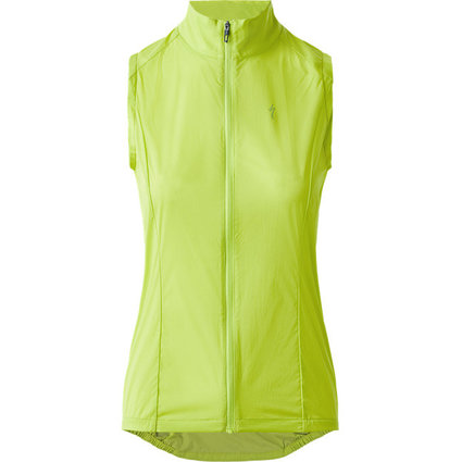 Womens Deflect Wind Vest Hyperviz
