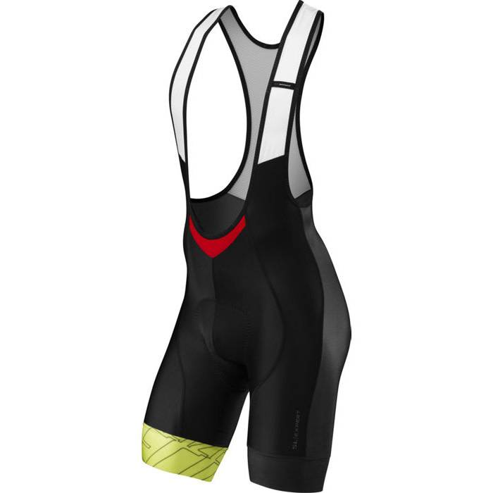 Specialized SL Expert Bib Shorts Black/Hyper Green