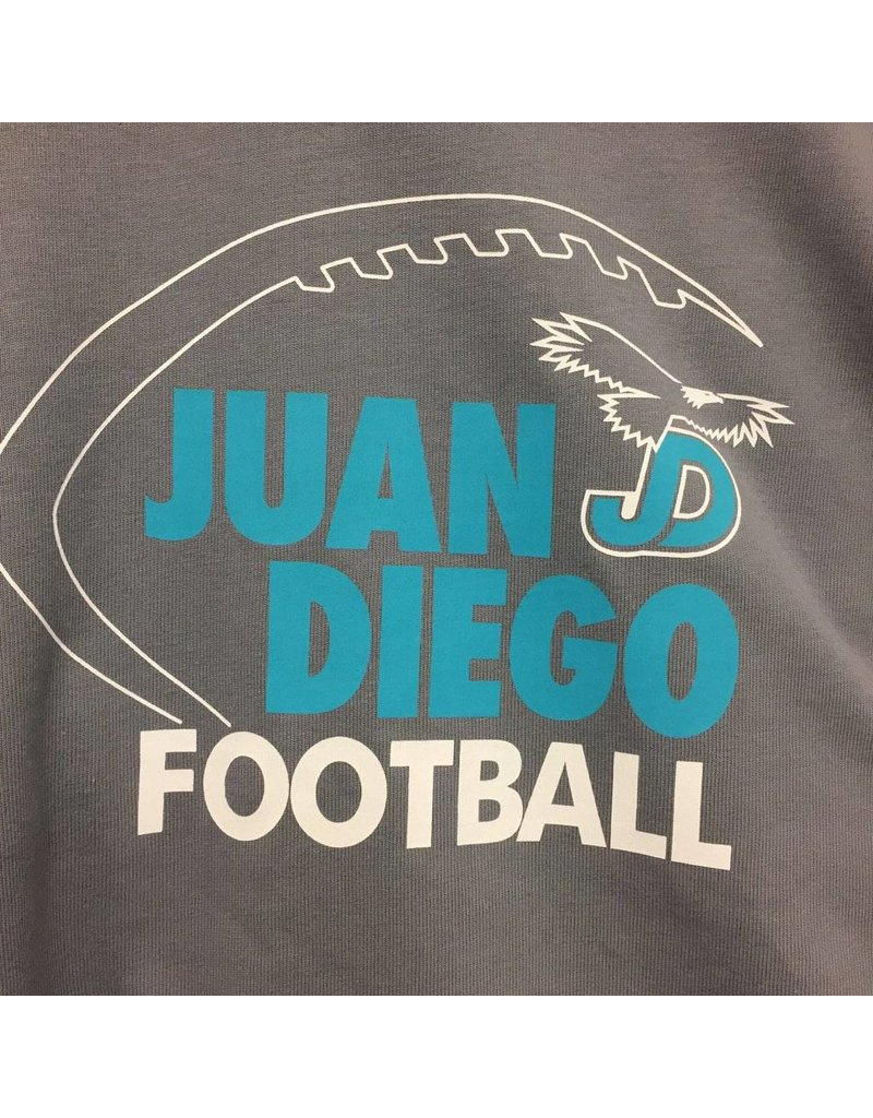 JD Nike Heavy S/S Shirt with Hood - Custom