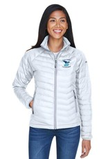 Columbia Jacket, Womens, with embroidered lacrosse logo