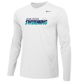JD Swim Team Long Sleeve Nike Legend Tee