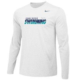 Swimming - JD Swim Team Long Sleeve Nike Legend Tee