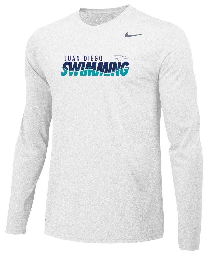 e73172231ac JD Swim Team Long Sleeve Nike Legend Tee