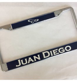 JD Metal License Plate Frame