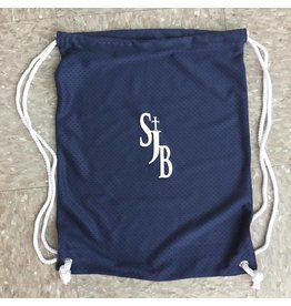 Bag - SJB Mesh Cinch bag, navy